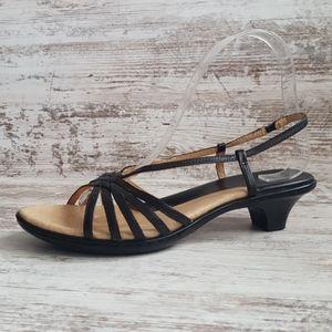 Like New Sofft Leather Kitten Heel